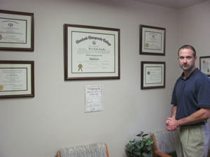 Chiropractor Monroeville PA Dr. Brad Schaffer Certifications